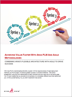 Achieving Value Faster with Aras PLM and Agile Methodologies